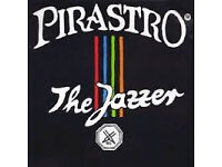 DOUBLE BASS, PIRASTRO 'THE JAZZER' FULL SET OF STRINGS, NEW IN PACKET, NEVER USED