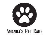 Amanda's Pet Care - Professional | Trusted | Insured
