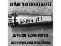 BRING IT! OPEN MIC NIGHT // HACKNEY WICK