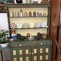 Rustic dresser with original up cycling.
