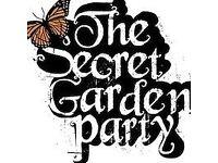 TWO Secret Garden Party SGP 2016 Weekend Tickets + litter bond