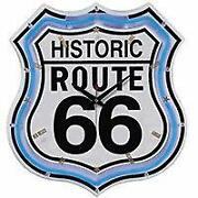 Wanduhr Route 66