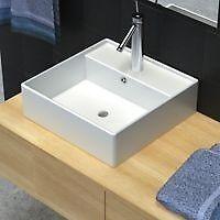Elegant modern square sink