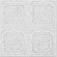 Armstrong Ceiling Panels - 12x12x1/2 TinLook Wellington. 40 Sq.Ft Box