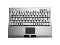 KeySonic ACK-540 Wired PS/2 Keyboard - Integrated touchpad