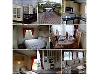 Sited static Caravan including all contents and remaining site fees