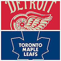 Toronto Maple Leafs @ Detroit Red Wings Oct 9!!Sec 101 Row 5!