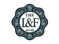 Head Chef (Full Time) The Lost & Found, Birmingham