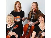 LooseStrings Quartet available forWeddings, Garden Parties and other events!