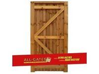 Brand new closeboard garden gate