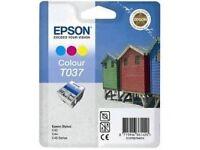Epson T037 (C13T03704010) Original Colour Ink Cartridge £15