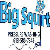 Big Squirt Pressure washing