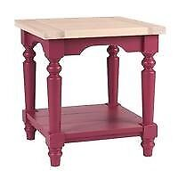 Laura Ashley Dorset Cranberry Side Table
