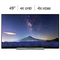 Toshiba 49U7763DB 49 Inch 4K Ultra HD Smart TV