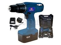 Used - Excellent Condition Marksman 12V CORDLESS DRILL DRIVER with HEAVY DUTY BLOW CASE & CHARGER