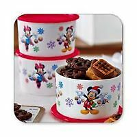Ensemble de 3 mini garde ingrédients Disney tupperware