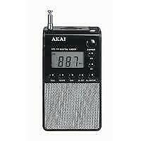 SALE Akai APR25 - Personal Pocket Radio - Zwart