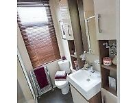 SALE-- Luxury lodge for sale on 12 month season holiday park wooler northumberland north west