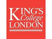 Drink Alcohol? Test out a King's College London App £10