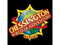 4 tickets for Chessington - 2nd October