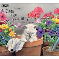 """Lang """"Cats in the Country"""" 2016 Wall Calendar"""