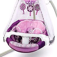 Fisher price cradle n swing with star light