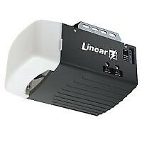 Linear garage door opener