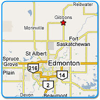 Master bedroom for rent in GIBBONS, AB.