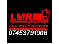 Last Minute Removals - Man & Van Delivery, House Clearance, Office Move, Short Notice,