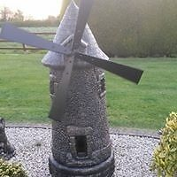 Concrete Garden Windmill