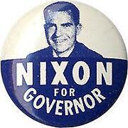 Richard Nixon Button