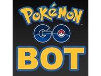 Pokémon Go Leveling/Rare Pokémon/Egg hatching Bot