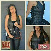 Ladies Leather Vest Springfield Lakes Ipswich City Preview