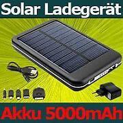 iPhone Solar AKKU