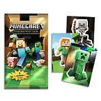 Minecraft Collectible Sticker Cards NIEUW
