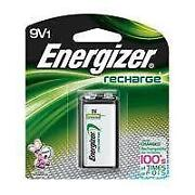 9V Rechargeable Battery Energizer