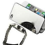 iPhone 4 Backcover Chrom