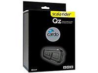Cardo Scala Rider QZ Motorcycle Bluetooth Headset