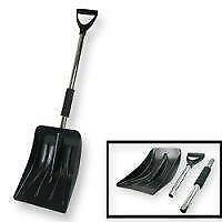 Brand New 3pc Portable Snow Shovel Set/SNOW BRUSH&SCRAPER/SNOW & ICE WINDSHIELD COVER