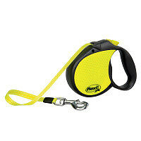 Flexi Neon Cord Retractable Dog Leash for Medium Dogs[new]