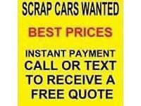 ♻️♻️ scrap my car, van, 4x4, mot failures, non runners, spares or repairs, ♻️♻️
