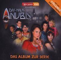 DAS HAUS ANUBIS - DAS ALBUM ZUR SERIE (NEU & OVP)