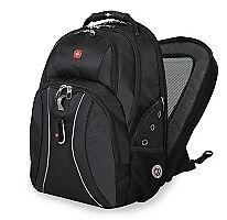 Wenger-SwissGear-17-Inch-Laptop-Backpack-Black-Bag-Scansmart-Swiss-Army-School