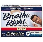 Breathe Right Strips Extra