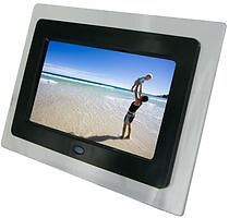 KITVISION - DPF-7BKK - DIGITAL PHOTO PICTURE FRAME, LCD, 7 INCH