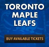 Toronto Maple Leafs vs Edmonton Oilers Tickets - Nov 1