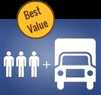 Reliable Affordable Movers $50/hr @ 416-744-3000