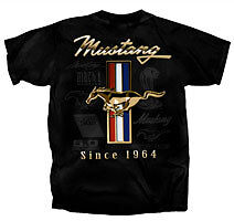 MUSTANG GOLD TRI-BAR T-SHIRT SINCE 1964