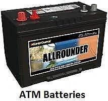 Allrounder deep cycle auto batteries NEW car battery FREE deliver Goolwa Alexandrina Area Preview