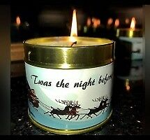 TWAS THE NIGHT BEFORE CHRISTMAS CANDLE